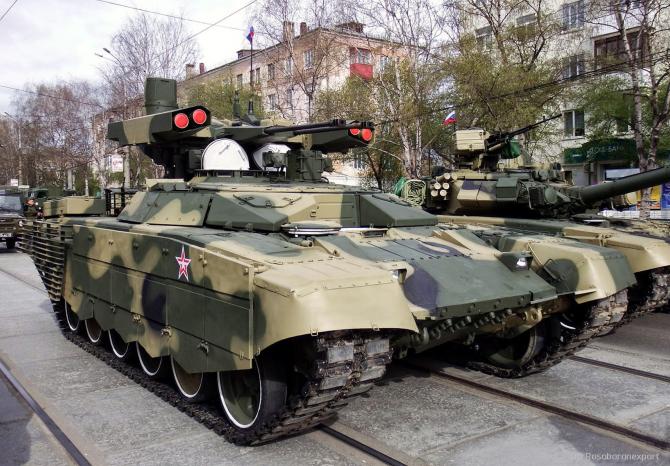 BMPT-72 Terminator 2  Sursa foto: Rosoboronexport