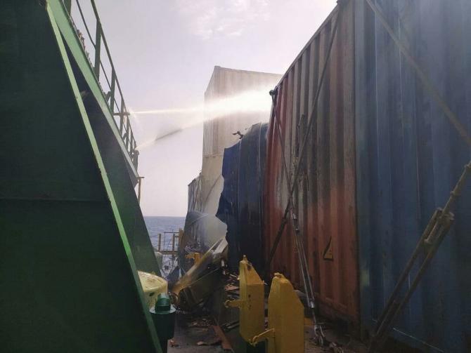 Cargoul Shahr e Kord - Iran  Sursa foto: Twitter