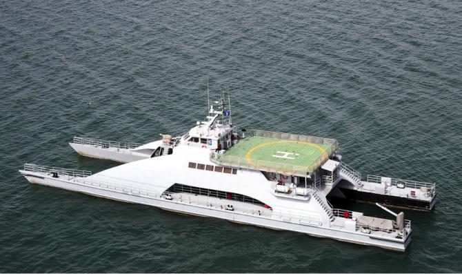 Catamaran IRIS Shahid Nazeri  Sursa foto: Twitter