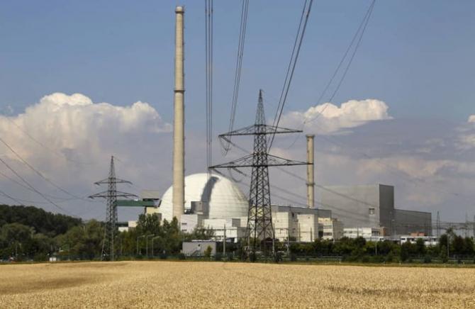 Centrala Nucleara Germania Sursa foto: Twitter