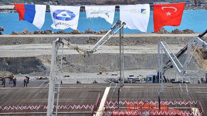 Constructie Centrala Nucleara Turcia Akkuyu  Sursa foto: Twitter