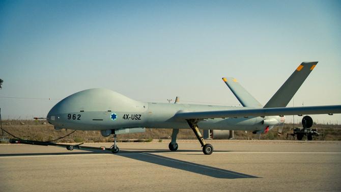 Drona Hermes 900  Sursa foto: Fortele Armate Israeliene
