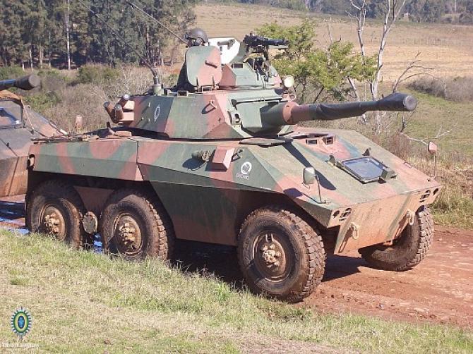 EE-9 Cascavel 6x6  Sursa foto: Brazilian Army