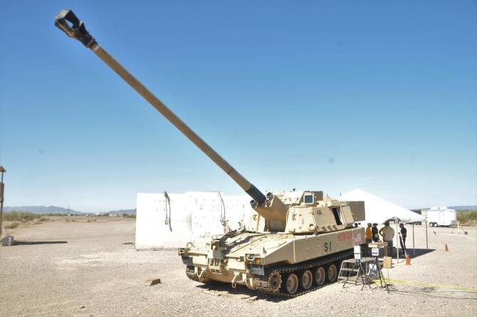 ERCA M109A7 Paladin Sursa foto: US Army/Ana Hendeson