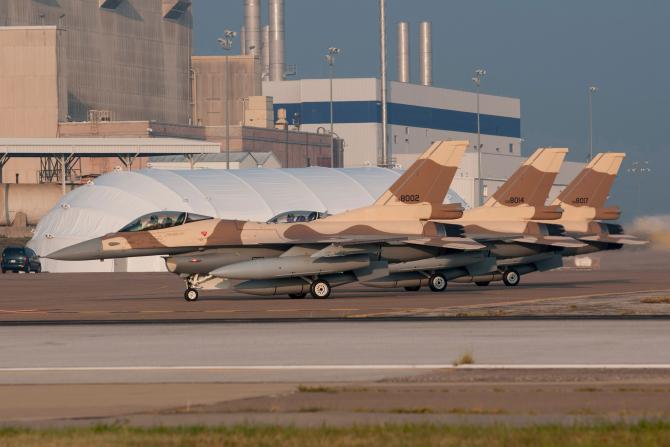 F-16, Maroc, sursă foto: Image credit: Carl Richards. Courtesy Lockheed Martin via The Aviationist