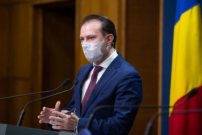 Premierul Florin Cîțu, sursă foto: Guvernul Româniai