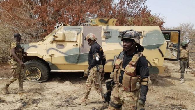 Acțiune a Forțelor Speciale din Nigeria împotriva grupării teroriste Boko Haram  Sursa foto: Twitter