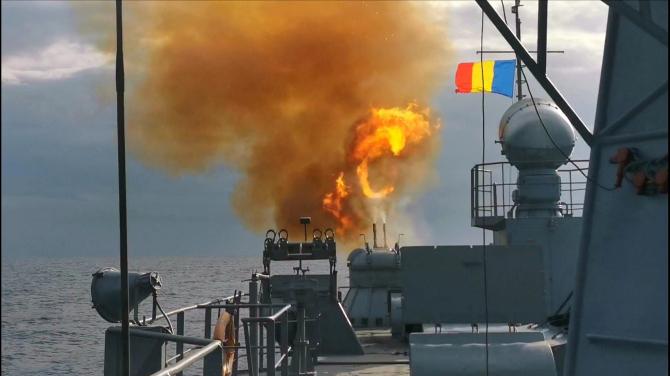 Sursă foto: Forțele Navale Române - Facebook