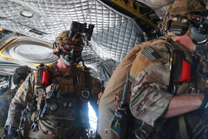 Forțele speciale SUA, sursă foto: U.S. Army Special Operations Command - Facebook