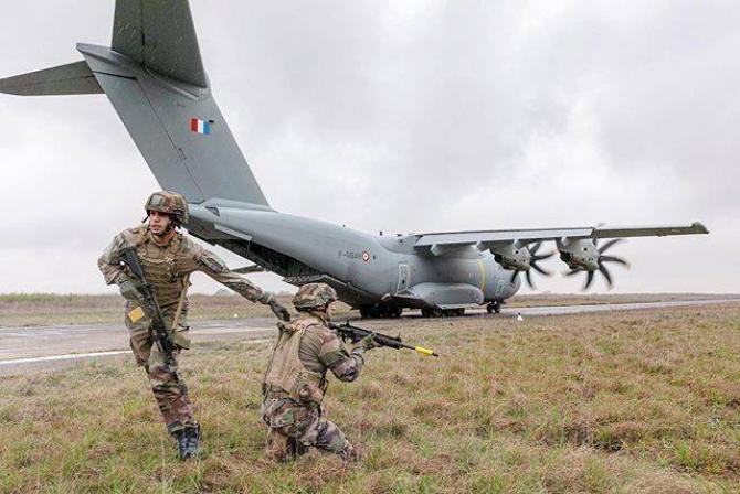 Sursă foto: Ministerul Apărării din Franța - Ministère des Armées (Facebook)