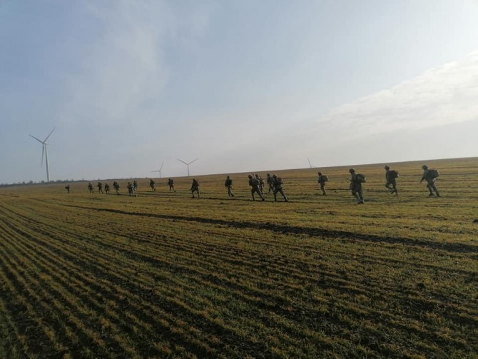 Regimentul 307 Infanterie Marina  Sursa foto: Facebook