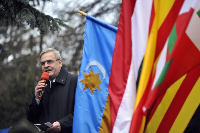Preşedintele Consiliului Naţional Maghiar din Transilvania (CNMT), Tokes Laszlo