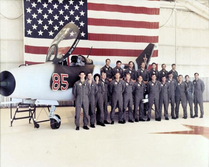 MiG-21, SUA. Sursă foto: National Museum of US Air Force