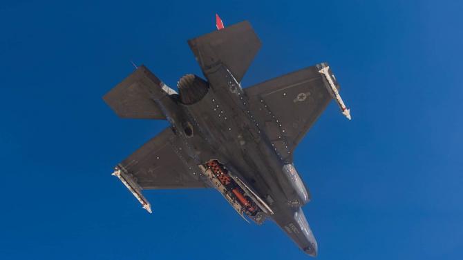 Racheta JSM F-35A  Sursa foto: Forsvars Materiell