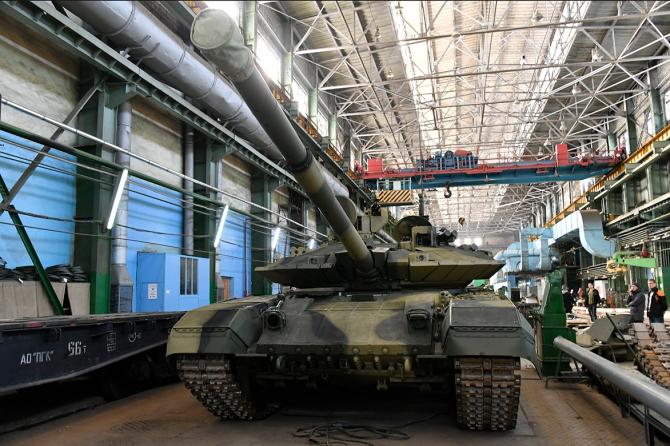 Tanc T-90M  Sursa foto: Twitter