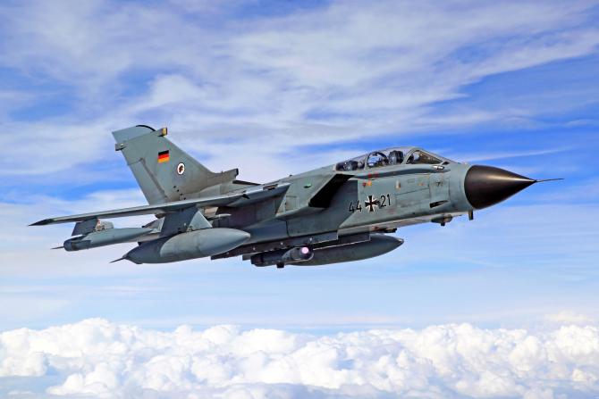 Aeronavă Tornado a Lufwaffe, sursă foto: Bundeswehr