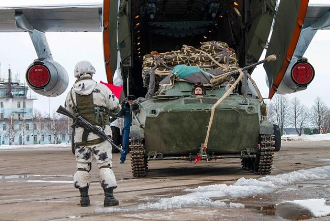 Trupe de parașutiști, Federația Rusă. Sursă: Ministerul Apărării de la Moscova