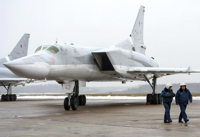 Bombardier strategic Tu-22, sursă foto: Ministerul Apărării de la Moscova