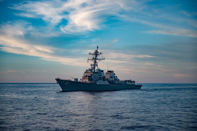 Foto: USS Winston S. Churchill (DDG 81) - Facebook