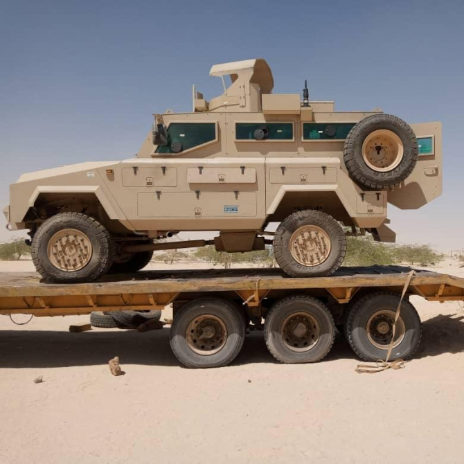 Vehicul blindat Mamba Sursa foto: US Africom