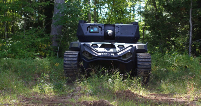 Vehicul RCV Sursa foto: Textron