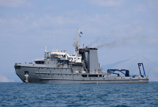 Căpitan-comandor Alexandru Cătuneanu Foto: Cristian Vlăsceanu/Fortele Navale Romane