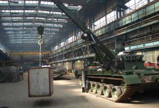 Fabrică de armament, sursă foto: Romarm