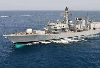 HMS Northumberland, sursă foto: Royal Navy