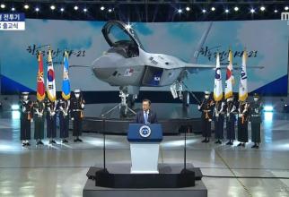 Prezentarea primului prototip KF-X, avionul de generația a V-a dezvoltat de Coreea de Sud. Sursă foto: KAI via. Defence-Blog.com