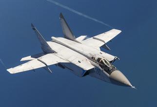 MiG-31 Sursa foto: Ministerul Apararii din Rusia