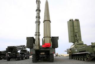 Rachete Iskander. Sursă foto: Ministerul Apărării de la Moscova