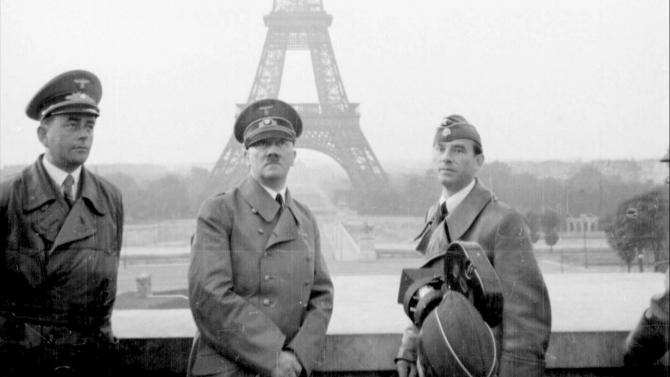 Adolf Hitler, la Paris, după capitularea Franței