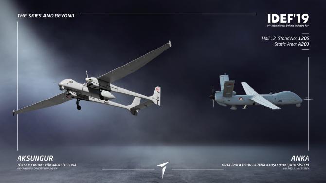 UAV Aksungur, Turcia. Sursă foto: Turkish Aerospace