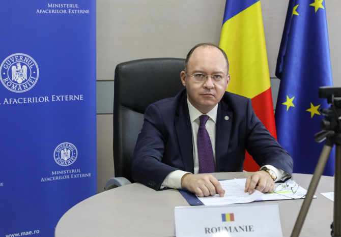 Bogdan Aurescu, sursă foto: Facebook MAE