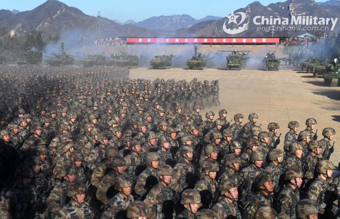 Armata de Eliberare a Poporului, China. Sursă foto: Ministerul Apărării de la Beijing