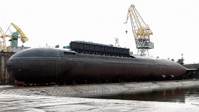 Submarinul Ekaterinburg, sursă foto: Zvezda TV, publicația Ministerului Apărării de la Moscova