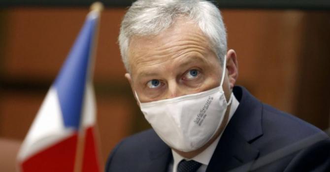 Ministrul francez al economiei, Bruno Le Maire