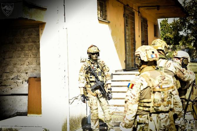 Sursă foto: Forțele pentru Operații Speciale Române (Facebook)