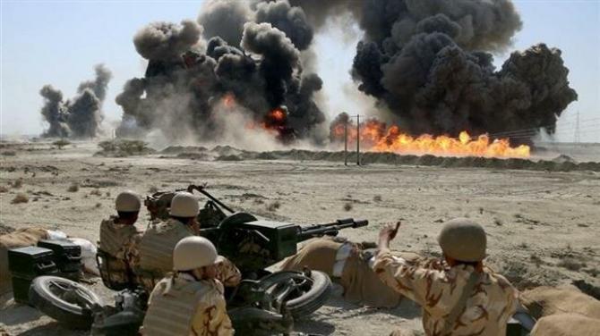 Armata Iranului, în timpul unor exerciții. Sursă foto: www.TehranTimes.com