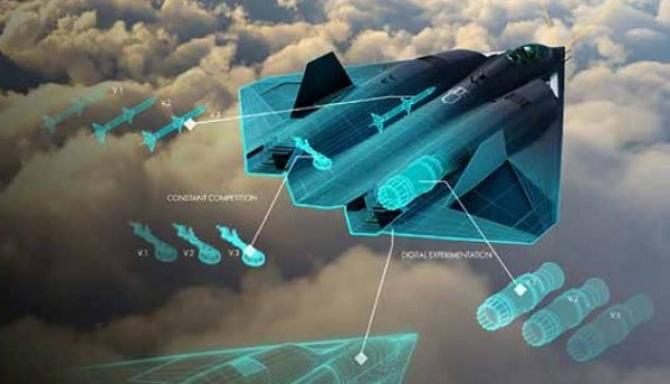 Imagine concept - NGAD (Next Generation Air Dominance), viitorul avion de generația a 6-a al SUA. Sursă foto: US Air Force