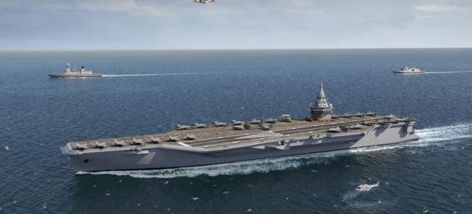 Portavion proiect PANG Sursa foto: Naval Group