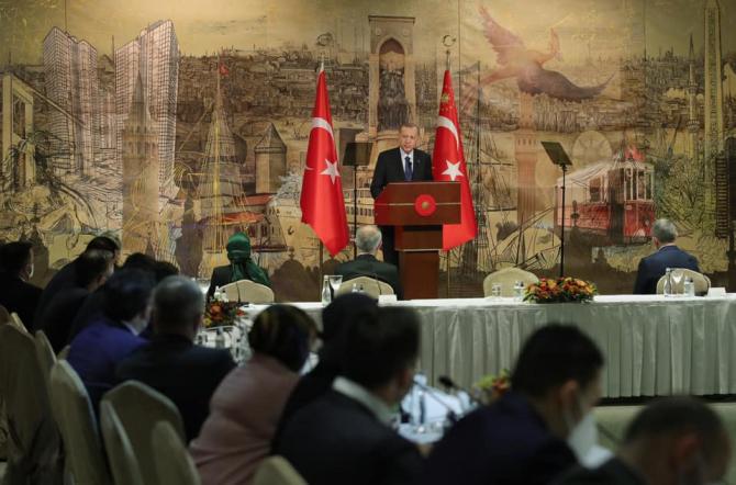 Președintele turc Recep Tayyip Erdogan, sursă foto: Administrația Prezidențială a Turciei