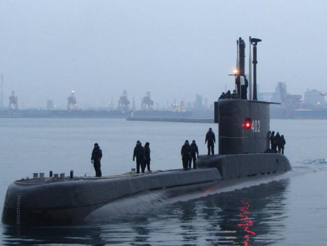 Submarin Indonezia KRI Nanggala-402
