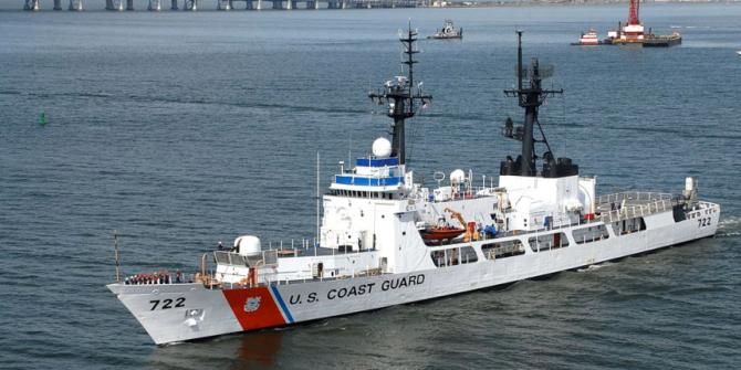 USCGC Hamilton, sursă foto: US Coast Guard