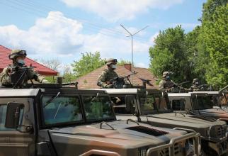 """Militari din Batalionul 151 Infanterie """"Războieni"""". Sursa Foto: Facebook Fortele Terestre Romane."""