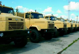"""Camioane ucrainene """"KrAZ"""""""