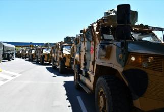 Convoi VJTF Turcia Sursa foto: Captura video MApN