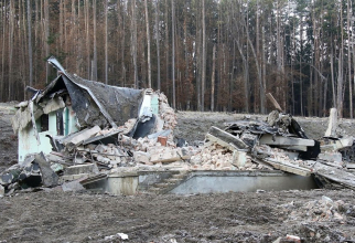Depozit munitii cehia Vrbetice  Sursa foto: Twitter/Police Cr