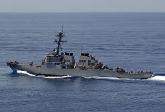 Distrugătorul USS Curtis Wilbur Sursa foto: US Navy