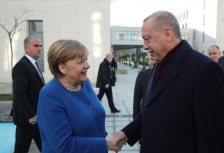 Angela Merkel și Recep Tayyip Erdogan, sursă foto: Administrația Prezidențială a Turciei